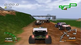 Monster Truck Madness 64 (Nintendo 64 Gameplay)