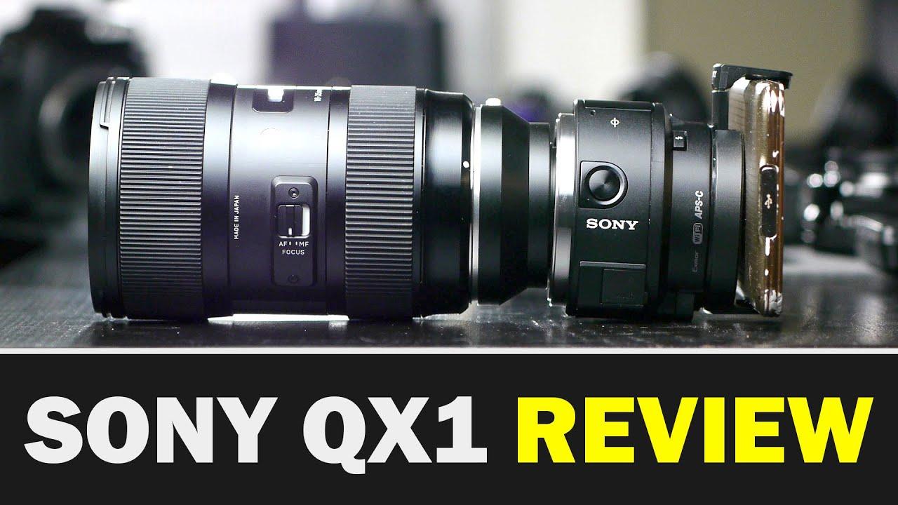 Sony QX1 - Обзор