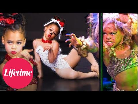 Asia's SASSIEST Performances from AUDC, Dance Moms & Raising Asia (Flashback Compilation) | Lifetime
