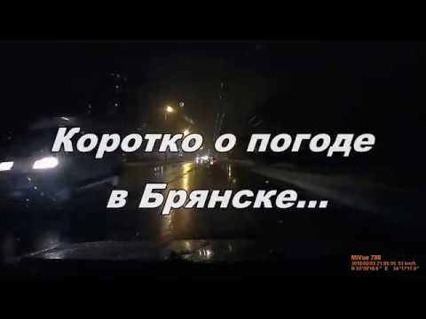 Коротко о погоде в Брянске