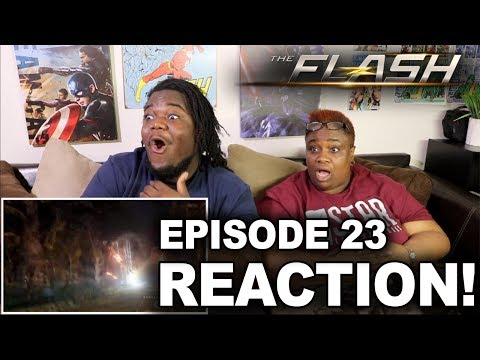 The Flash Season 3 Episode 23 : REACTION WITH MOM!