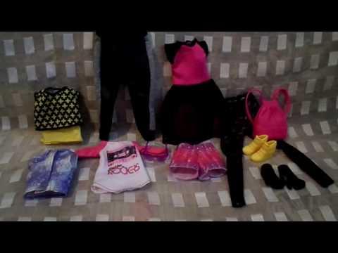 Обзор на Одежду, обувь и аксессуары для Барби