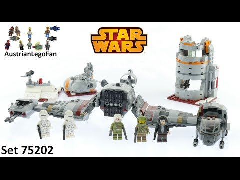 Lego Star Wars 75202 Defense of Crait - Lego Speed Build Review