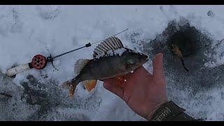 Рыбалка на лесном озере в марте Советский район