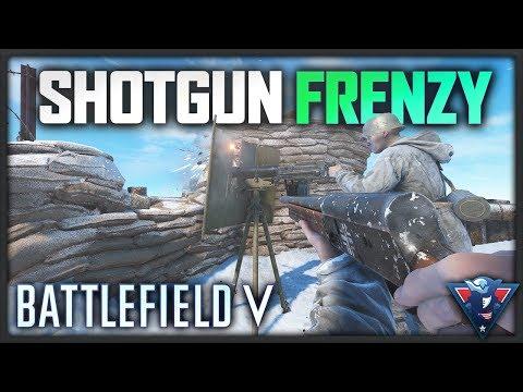 SHOTGUN MADNESS!   Battlefield V Gameplay