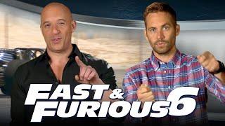 Fast \u0026 Furious 6 | Vin Diesel and Paul Walker Take Us Behind the Scenes