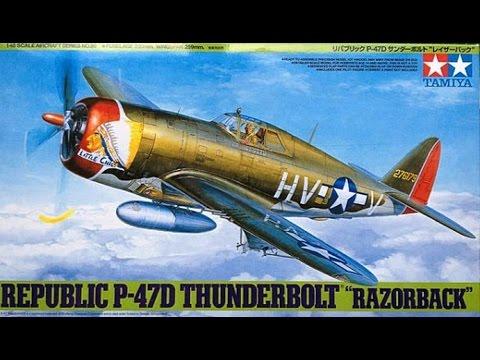 FULL VIDEO BUILD TAMIYA P-47D