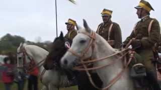 Hubertus 2009 Raków (upadek z konia)