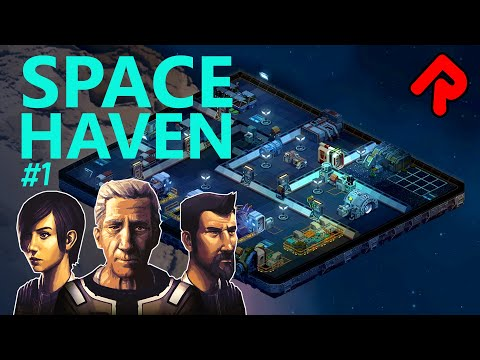 Spaceship Colony Builder Hits Steam Early Access! | Space Haven Gameplay Ep 1 (2020)