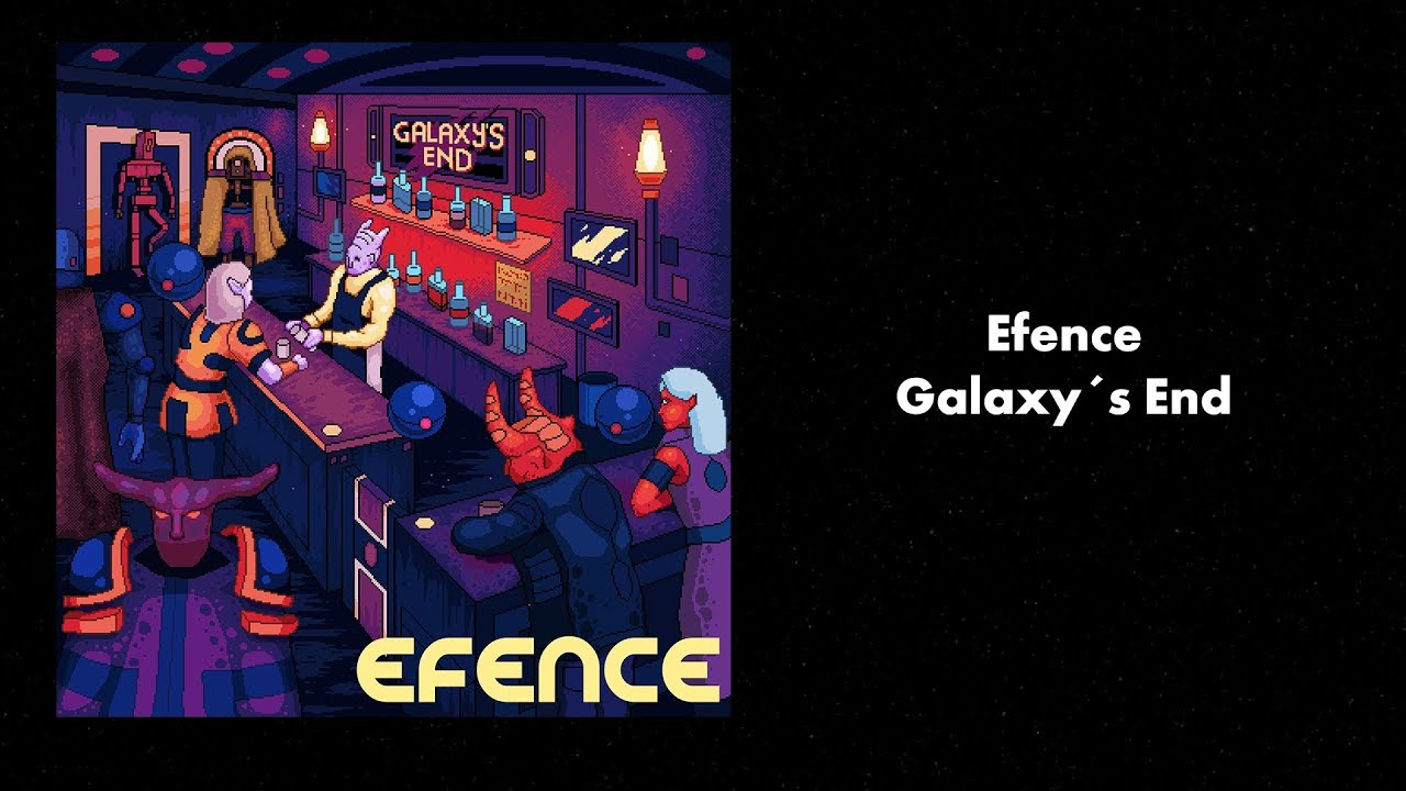 Efence - Galaxys End [Full Synthwave / Electronic Album]