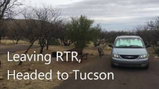 Leaving RTR 2017, Headed to Tucson