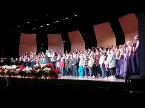 "Phoenixville Area High School Concert Choir Sings ""Carol of the Bells"""