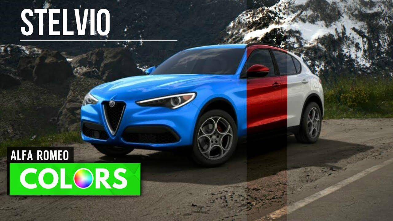 2018 Alfa Romeo Stelvio Colors Youtube