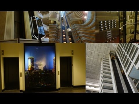 Celebrating the 21 Year Anniversary of DieselDucy's elevator photography with FIVE AWESOME ELEVATORS