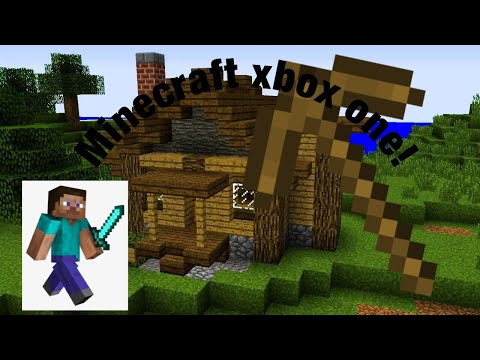 Minecraft Xbox one edition!! EP 1 The wooden shack!