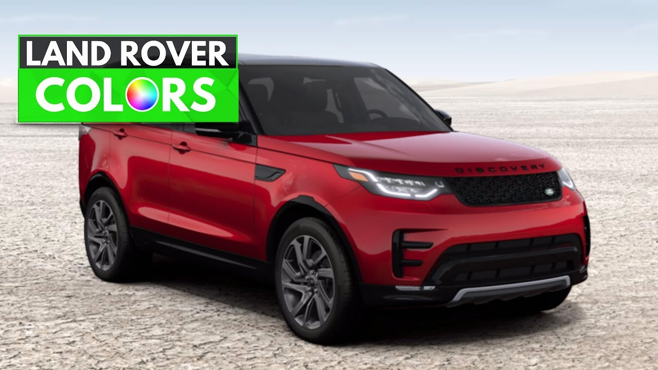 2017 range rover discovery colors - youtube