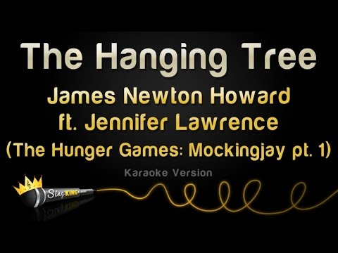 James Newton Howard and Jennifer Lawrence - The Hanging Tree (Karaoke Version)