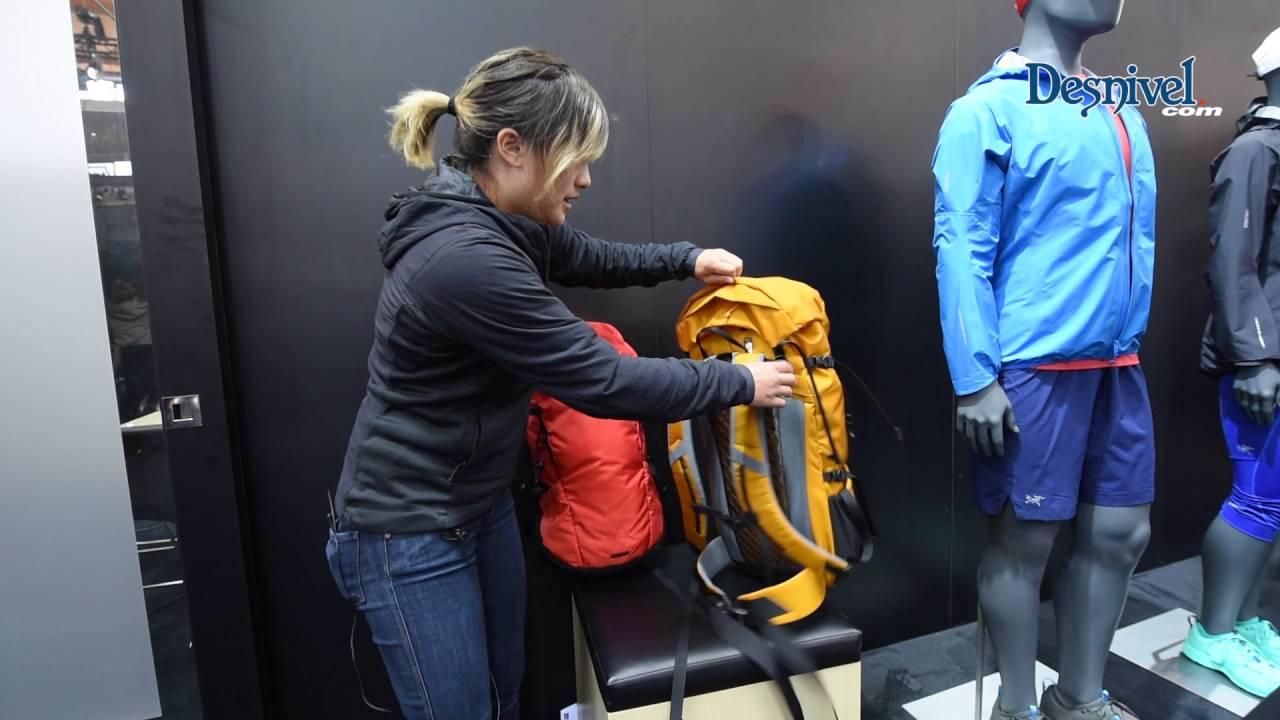 1ba7053b22487 Mochila  backpack Brize de Arc Teryx - YouTube