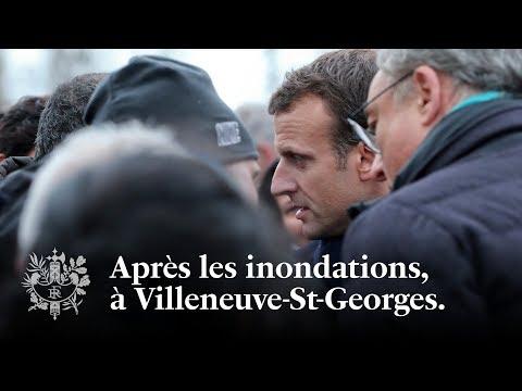 À Villeneuve-Saint-Georges | Emmanuel Macron