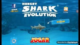 hungry shark evolution #3 = nivel 8 adquirido e o tubarao ta mais grande