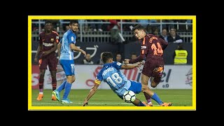 Noticias de última hora   Resumen del Málaga - Barcelona de la Liga Santander