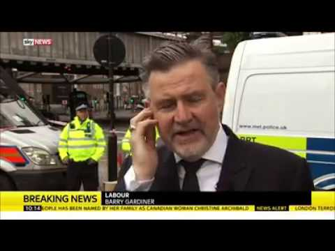 Barry Gardiner attacks Theresa May for Police & MI5 cuts