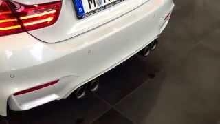 BMW M4 M Performance Exhaust