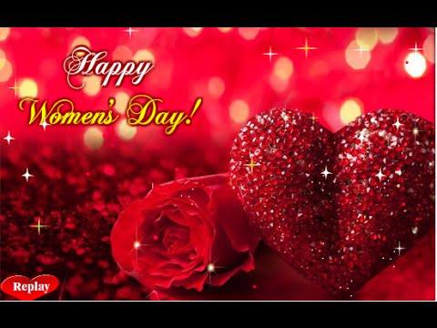 Happy womens day greeting ecard 2015 youtube happy womens day greeting ecard 2015 m4hsunfo