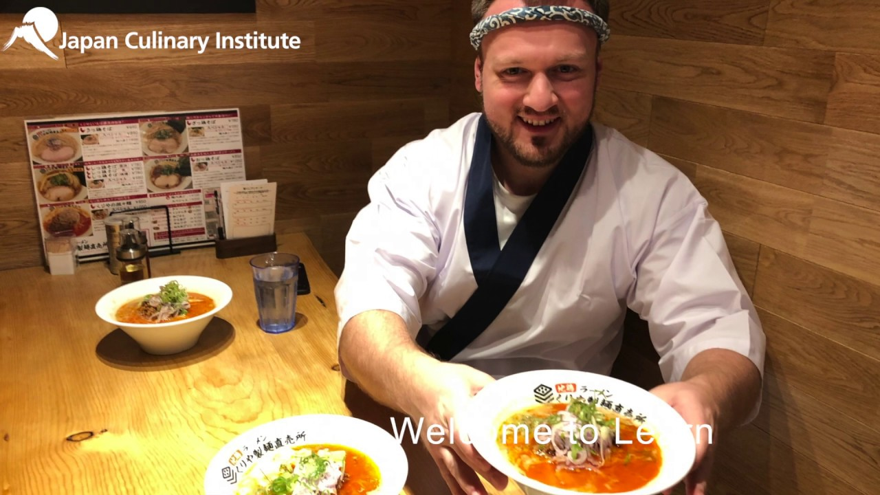 Japan Culinary Institute - Professional Ramen Course - October - Day3