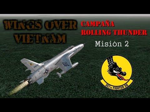 Wings over Vietnam / 357th TFS Licking Dragons / Misión 2