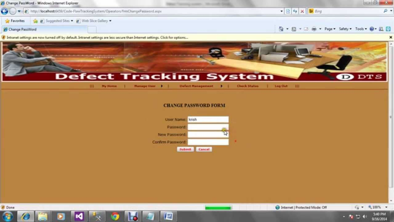 defect tracking system Download defect tracking system project source code in javadefect tracking system project sql file, source code in war format main aim of this project is to provide a software.