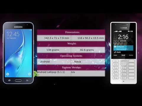 Samsung Galaxy J3 (2016) vs Nokia 216 - Phone comparison