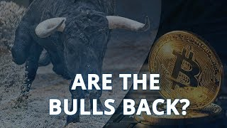 Are The Bulls Back?   Bitcoin
