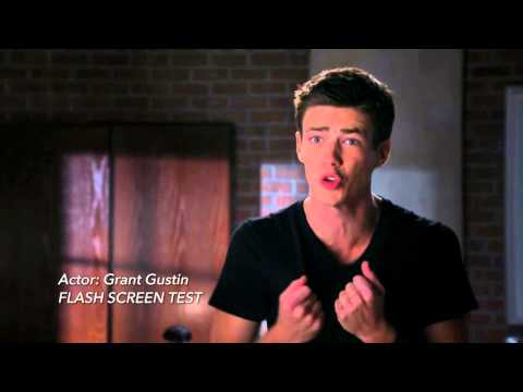The Flash  See Grant Gustin Screen Test HD