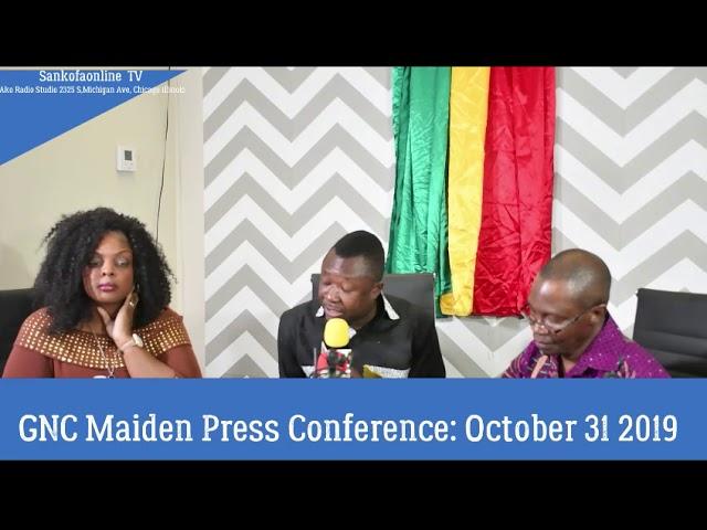 GNC Press Conference :More Q & A