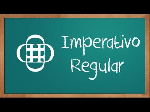 Imperativo Afirmativo y Negativo (verbos regulares)