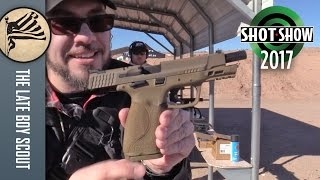 Smith & Wesson M&P 2.0 9mm: SHOT Show 2017 Range Day