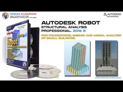Autodesk Robot 2016 Tutorial│Advanced Level│ Lesson 15