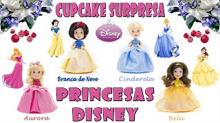 Cupcake Surpresa Princesas Disney - Estrela - Disney Princess