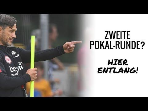 DFB-Pokal-Abenteuer beginnt | Eintracht Frankfurt