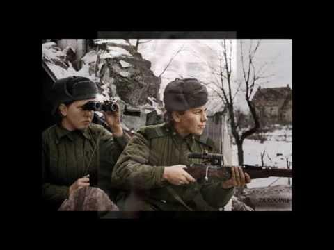 Roza Shanina -  Ро́за Ша́нина - Female Sniper