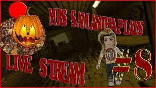 Mrs. Samantha Roblox Spooky Games. :) #8 Roses EEK!