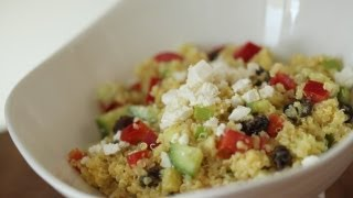 Curried Quinoa Salad Recipe || Kin Eats