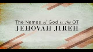 The Names of God iฑ the Old Testament