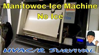 Manitowoc Ice Machine Not Making Ice