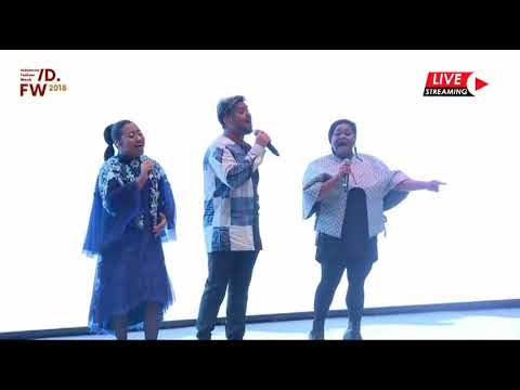 Top 3 Indonesian Idol at Indonesia Fashion Week 2018 ('Rise' from Katy Perry by Maria, Abdul, Joan)