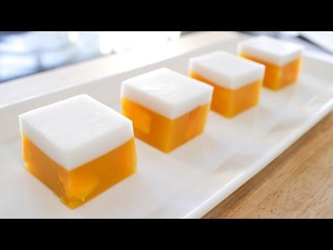 Mango Coconut Jelly (Agar Agar) Recipe วุ้นมะม่วง – Hot Thai Kitchen