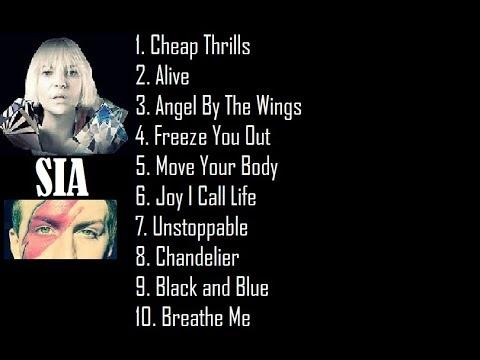 Sia Rare Hits Album - Tribute - Michael Barbera