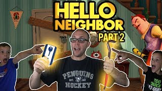 PBT Fidget Spinners! Hello Neighbor Part 2 Twin Toys Kids Jumpscare