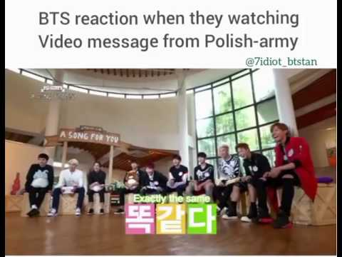 BTS REACTION For Polish-ARMY